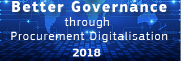 Better Governance through Procurement Digitalisation 2018